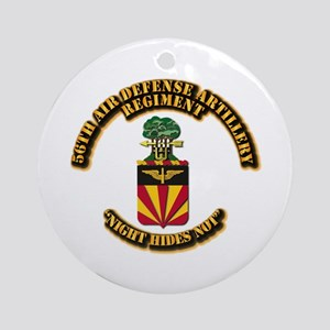 COA - 56th Air Defense Artillery Regiment Ornament