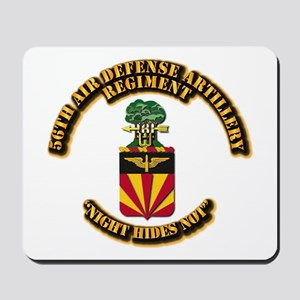 COA - 56th Air Defense Artillery Regiment Mousepad