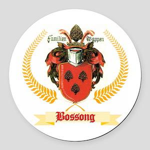 german boss coat Round Car Magnet