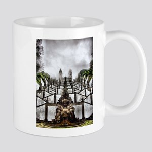 The Baroque staircase of Bom Jesus in Braga Mug