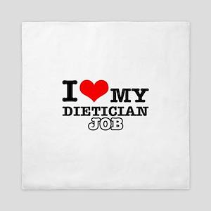 Dietician Job Designs Queen Duvet