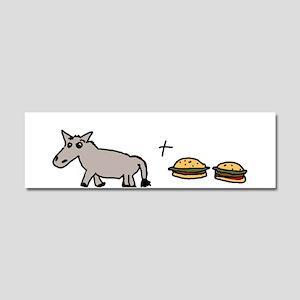 assburgers Car Magnet 10 x 3