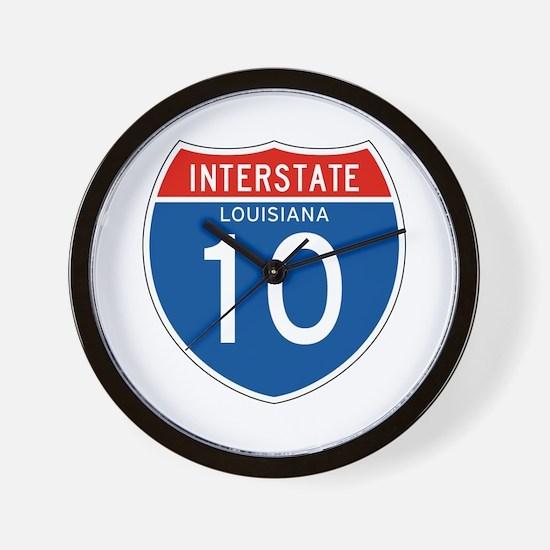 Interstate 10 - LA Wall Clock