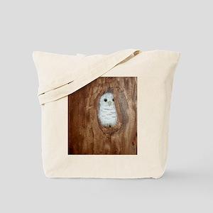 StephanieAM Baby Owl Tote Bag