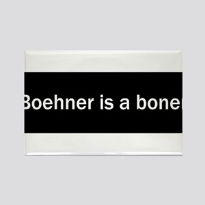 Boehner is a boner Rectangle Magnet