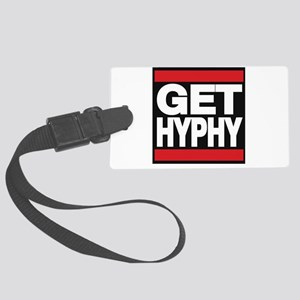 get hyphy lg red Luggage Tag