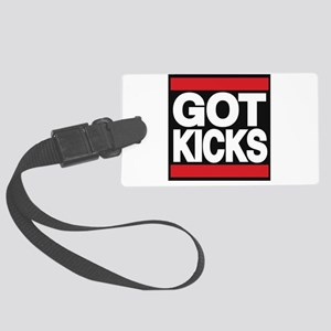 got kicks lg red Luggage Tag
