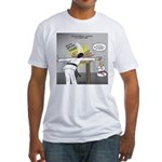 Karate Head Break Fitted T-Shirt