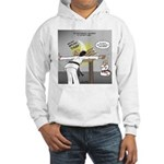 Karate Head Break Hooded Sweatshirt