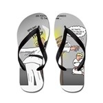 Karate Head Break Flip Flops