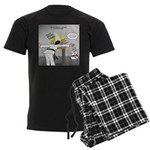 Karate Head Break Men's Dark Pajamas