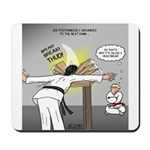 Karate Head Break Mousepad