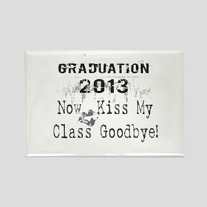 2013 Graduation Kiss Class Goodbye Rectangle Magne