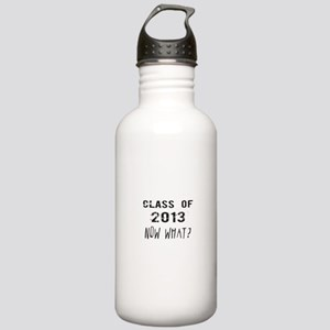 Class of 2013 Now What Water Bottle
