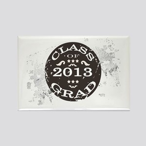 Class of 2013 Graduate Retro Rectangle Magnet