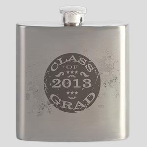 Class of 2013 Graduate Retro Flask