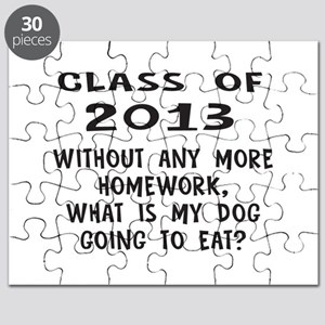 Class of 2013 Homework Puzzle