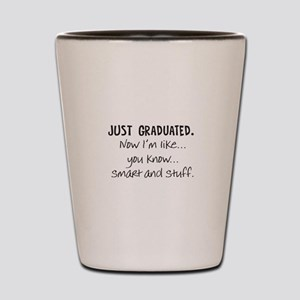 Just Graduated Blonde Humor Shot Glass