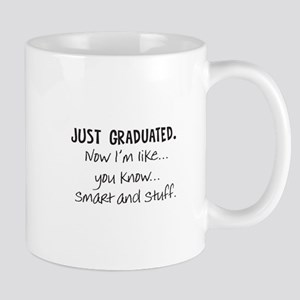 Just Graduated Blonde Humor Mug