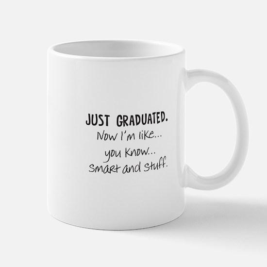 Just Graduated Blonde Humor Mug