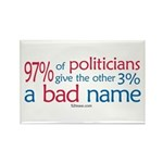 Anti-Government Politician Rectangle Magnet