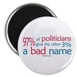 Anti-Government Politician Magnet