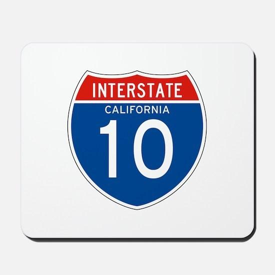 Interstate 10 - CA Mousepad