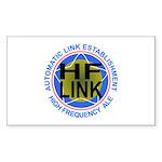 HFLINK Insignia Rectangle Sticker