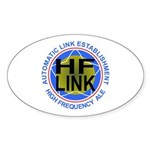 HFLINK Insignia Oval Sticker