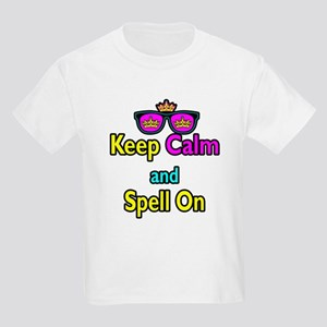 Crown Sunglasses Keep Calm And Spell On Kids Light