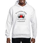 It's a triplet thing Hooded Sweatshirt