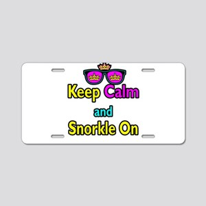 Crown Sunglasses Keep Calm And Snorkle On Aluminum