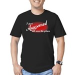 I Just Awesomed All Over The Place Men's Fitted T-