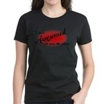 I Just Awesomed All Over The Place Women's Dark T-