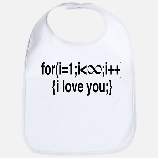 I Love You....For Ever! Bib