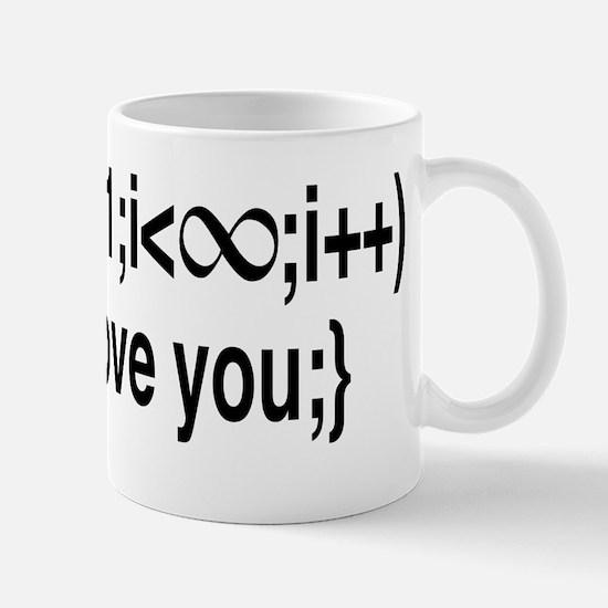I Love You....For Ever! Mug