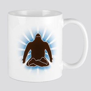 It's bigfoot at peace, doing yoga, meditating Mug