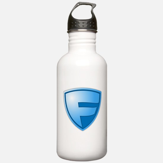Super F Super Hero Design Water Bottle