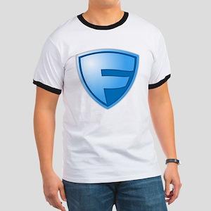 Super F Super Hero Design T-Shirt