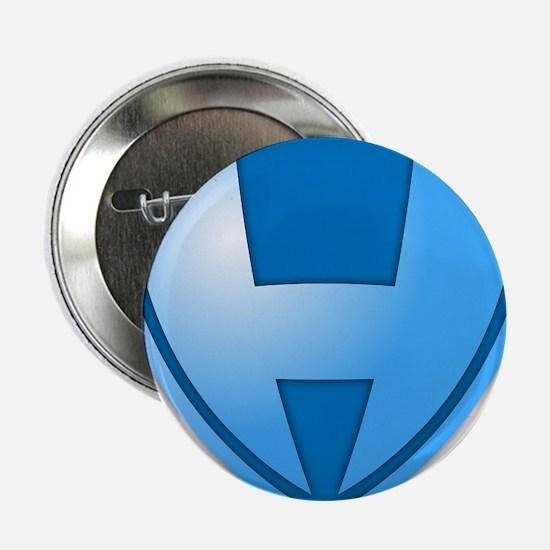 """Super H Super Hero Design 2.25"""" Button"""