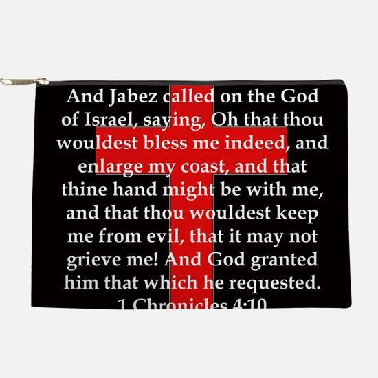 1 Chronicles 4:10 Makeup Pouch