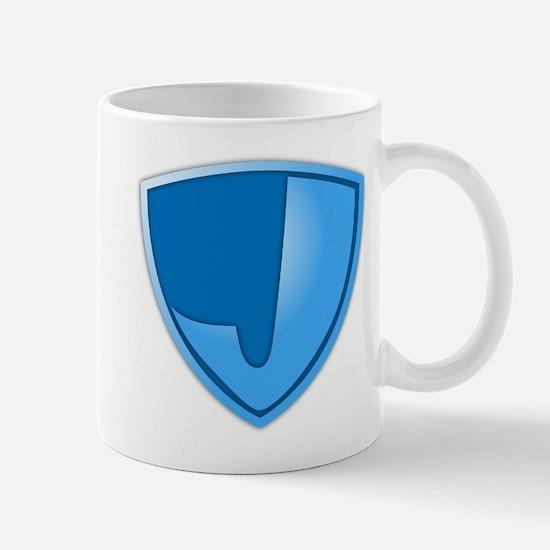 Super J Super Hero Design Mug