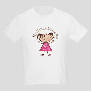 Nonna Loves Me Kids Light T-Shirt