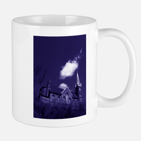 Blue Castle Mug Mugs