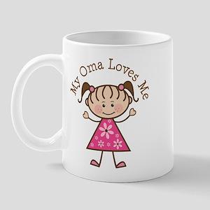 Oma Loves Me Mug