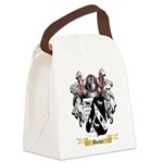Border Canvas Lunch Bag