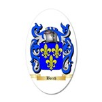 Borch 20x12 Oval Wall Decal