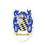 Boquet Oval Car Magnet