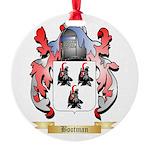 Bootman Round Ornament