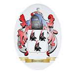 Bootman Ornament (Oval)
